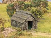 Wattle/Timber Outbuilding (plastic Kit)