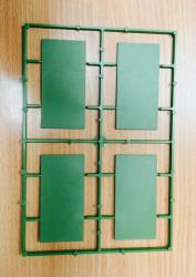 40mm x 80mm Rectangular Bases (8)