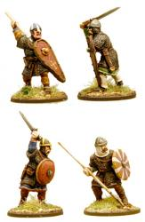 AND02 Anglo-Danish Huscarls (Spear) (4)