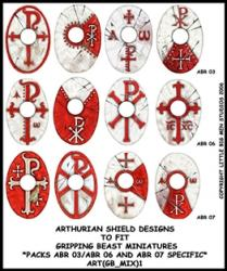 ART(GB_MIX)1 Arthurian Designs for Specific Packs Red (12)