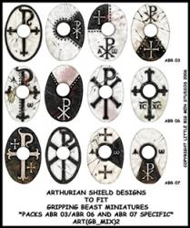 ART(GB_MIX)2 Arthurian Designs for Specific Packs Black (12)