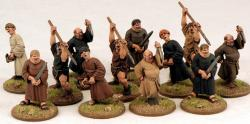 DOW01 Fanatical Pilgrims (same as SFH07 Angry Monks) (12)