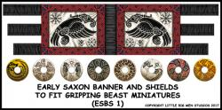 Early Saxon SAGA Banner