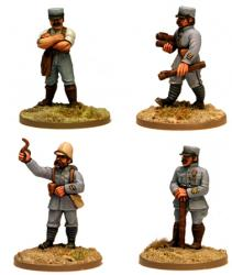 FRN08 French Battalion Command (Fixed Heads) (4)