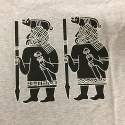 Germanic / Norse Warriors T-Shirt (Grey) (1)