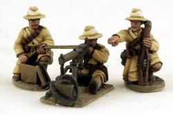 IND13 HMG with 3 Gurkha Crew (Fixed Heads)