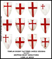 LC(GB_LS_MIX)4 Templar Knight Battered Shield Designs (12)