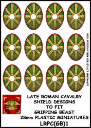 LRPC(GB)1 Late Roman Plastic Cavalry Shield Transfers