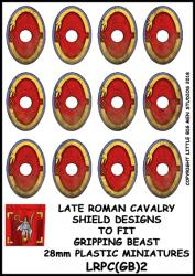 LRPC(GB)2 Late Roman Plastic Cavalry Shield Transfers