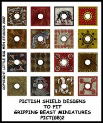 PICT(GB)2 Pict Shields (Square Design) (16)