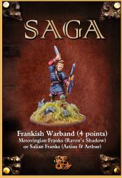 SAGA Starter 4 Point Warband - Merovingian Franks