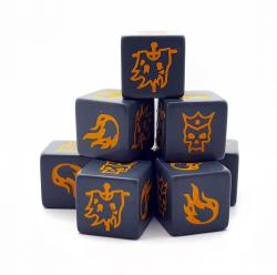 SD12 Forces of Chaos Dice (8)