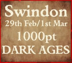 SWORDPOINT DARK AGES EVENT - Swindon 29th Feb / 1st March 2020