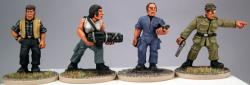 SciFi01 Marine Character Pack one (4)
