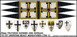 TBS1 Ordensstaat / Teutonic Sheet