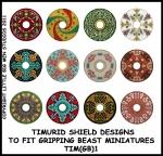 TIM(GB)1 Timurid Cavalry Shields (12)