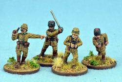 TURK01 Turkish Officers (Fixed Heads) (4)