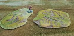 Total Scenery Battle Rug Rough Terrain Duo (2 x 15cm)