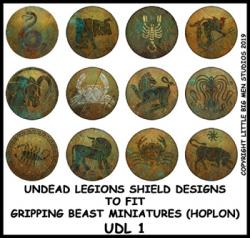 UDL 1 Undead Legions Shield (Hoplon) Transfers