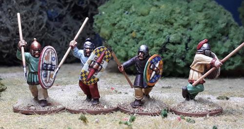ACT07 Unarmoured Celts/Gaul warriors