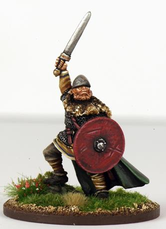 SHVA05 Alfred The Great, King of England - Anglo-Saxon Legendary Warlord