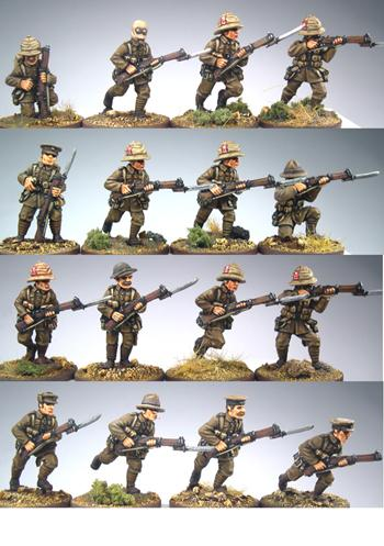 BRIT10 Serge Uniform Section Pack (Separate Heads) (10)