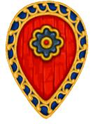 BZI(GB)1 Byzantine Infantry Shield (Infantry Teardrop) (12)