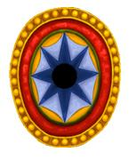BZI(GB)7 Byzantine Infantry Shield (Infantry Oval) (12)