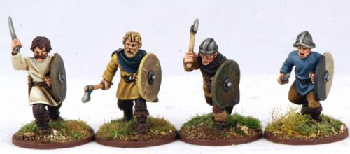 CF04 Carolingian Warriors Hand Weapons (4)
