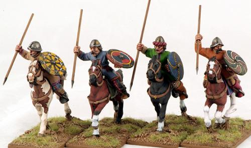 CFC03 Mounted Carolingian Warriors (4)