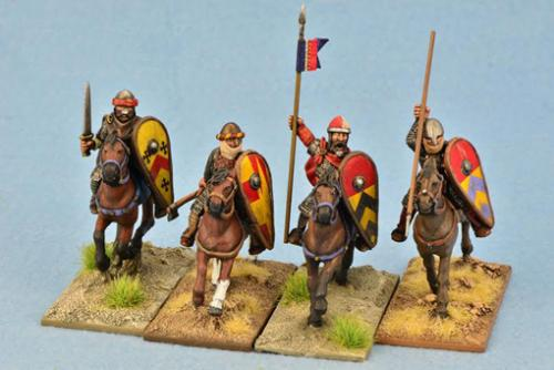 CRC05 Mounted Knights Four (4)