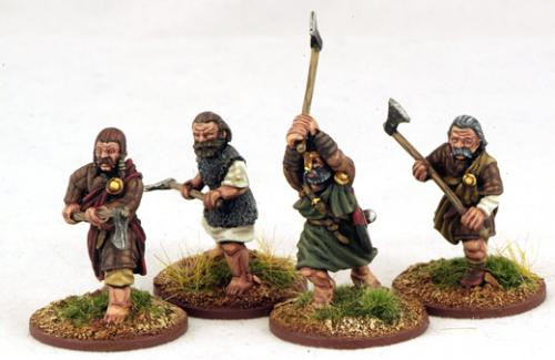 HIB08 Norse Gael Warrior Axemen Two (4)