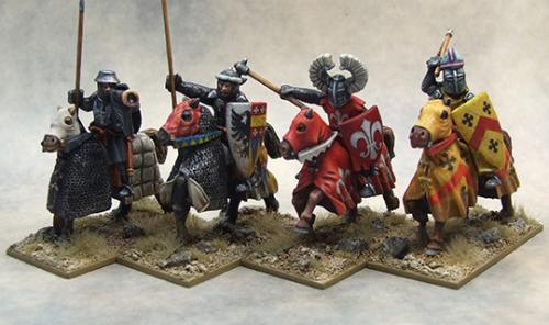 LCC01 Mounted Crusading Knights (Command) (4)