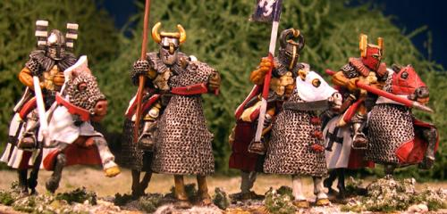 LCC14 Mounted Teutonic Knight (Lances) (4)
