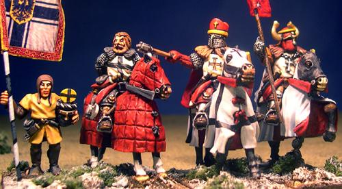LCC15 Mounted Teutonic Characters