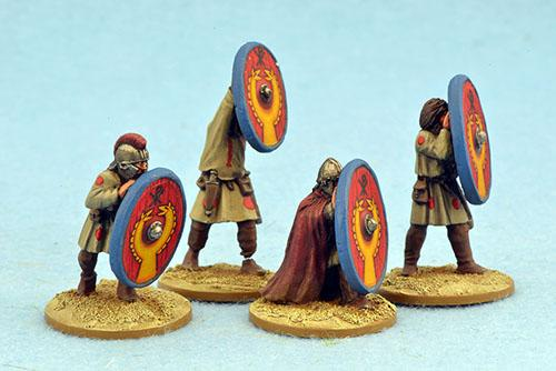 LR19 Late Roman Infantry Shieldwall Two (4)