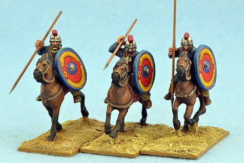 LRC10 Late Roman Unarmoured Cavalry (Crested Helmets) (3)