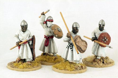MOR06 Nubian Spearmen (Advancing) (4)