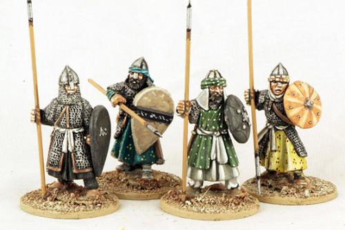 MOR15 Andalusian Spearmen (Armoured) (4)