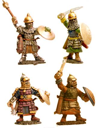 MSI03 Dismounted Timurid Cavalry (Hand Weapons) (4)