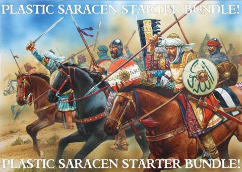 New Edition SAGA Starter - Plastic Saracens DEAL!