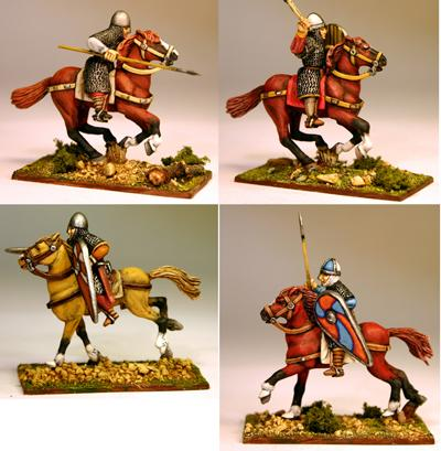 NMC10 Norman/Breton Milites (Mixed Pose)(4)