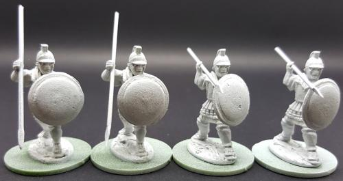 PUN06 Libyan Spearmen (Attacking)