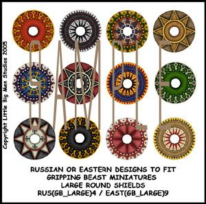 RUS(GB_LARGE)4 Russian Shield (Large Dark Age Round)