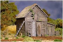 Ramshackle Barn (Plastic Kit)