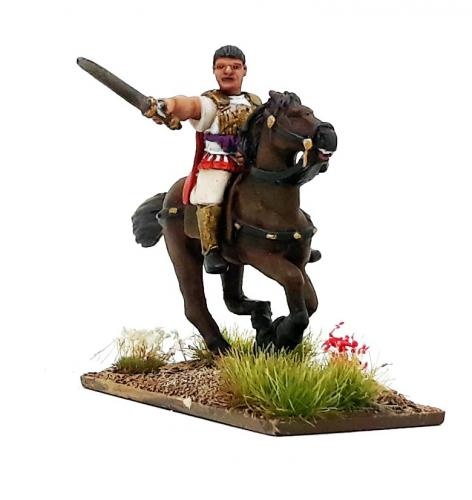 SAHR01a Republican Roman Consul/Tribune Mounted