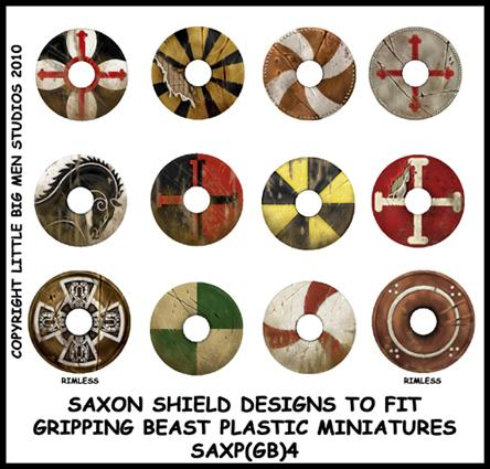 SAXP(GB)4 Designs for plastic Saxons Four (12)
