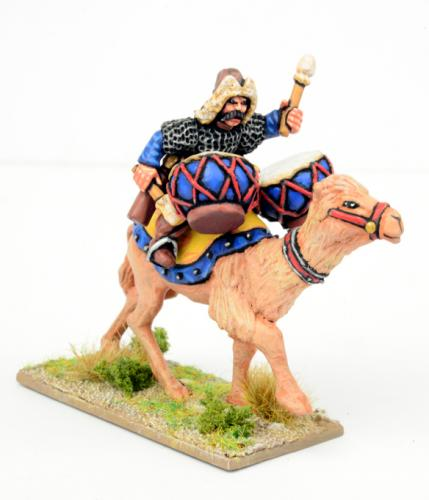 SMG02 Mongol Wardrummer on Camel