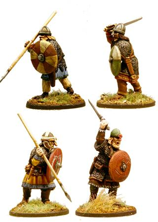 SX02 Thegns  (Hearthguards) (1 point) (4)