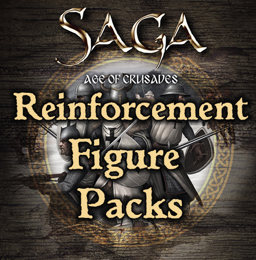 SAGA Age of Crusades Figure Packs